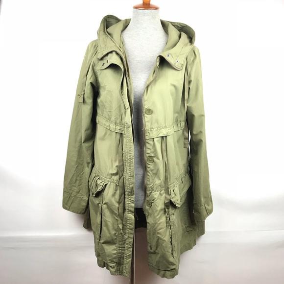 ea318f497b0f5 GAP Jackets & Blazers - Gap Lightweight Hooded Parka Jacket Womens Medium